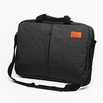 """Taška na notebook 15.6"""", NT013, tmavě šedá z polyesteru, voděodolná s ramenním popruhem typ"""