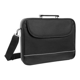 """Taška na notebook 16"""", Ascetic, černá z polyesteru, Defender"""