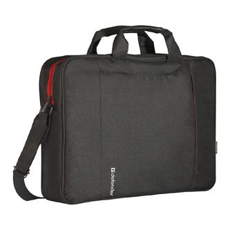 "Taška na notebook 15,6"", Geek, černá z polyesteru, Defender"