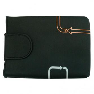 """Obal na notebook 12,1"""", Arrows, černý z neoprénu, Logo"""