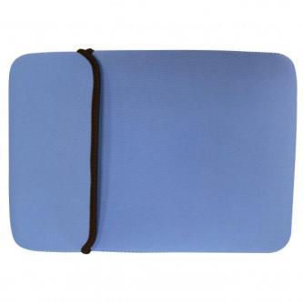 """Obal na netbook 10,1"""", Reverse, modro-hnědý z neoprénu, Logo"""