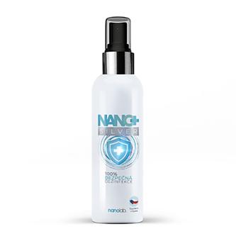 Dezinfekční sprej NANO+ Silver, 100ml, Nanolab