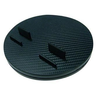 Stojan pro tablet, otáčecí, černý, pro všechny velikosti tabletů a smartphone modelů