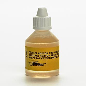 Čisticí roztok, na zaschlé InkJet trysky, 20 ml, LOGO