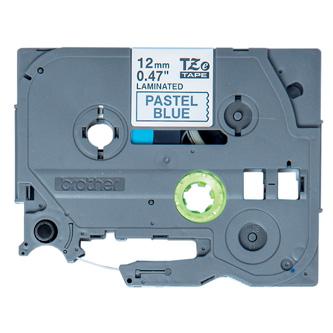 Brother originální páska do tiskárny štítků, Brother, TZE-MQ531, černý tisk/modrý podklad, 4m, 12mm, pastelový podklad