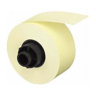 Casio originální páska do tiskárny štítků Labemo, Casio, XA 12 YW1, černý tisk/žlutý podklad, nelaminovaná, 5m, 12mm