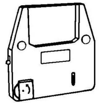 Páska pro psací stroj pro Brother EM 100, 200, CE 2x, 5x, 6x, COMPACTRONIC, černá, fóliová, PK143, N