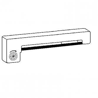 Kompatibilní páska do pokladny, ERC 22, černá, pro Epson