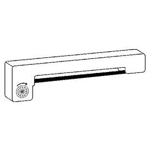 Kompatibilní páska do pokladny, ERC 09, fialová, pro Epson M-160, 163, 164, 180, 185, 190, 191, 192