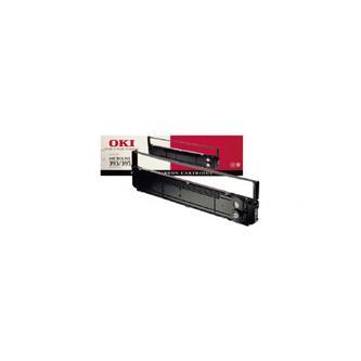 OKI originální páska do tiskárny, 9002311, černá, OKI ML 393, 395