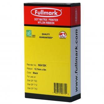 Fullmark kompatibilní páska do tiskárny, RC700, černá, pro Star SP 712, SP 742