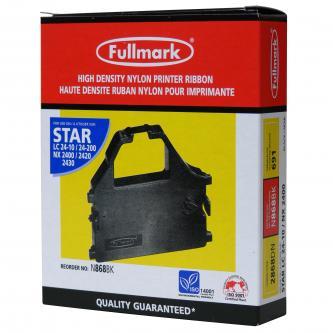 Fullmark kompatibilní páska do tiskárny, černá, pro Star LC 15, 24-10, NX 1500, 2400, 2440, ZA 200, 250