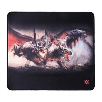 Podložka pod myš, Cerberus XXL, herní, černá, 40x35,5 cm, Defender