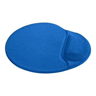 Podložka pod myš, polyuretan, modrá, 26x22.5cm, 5mm, Defender, lycrový povrch