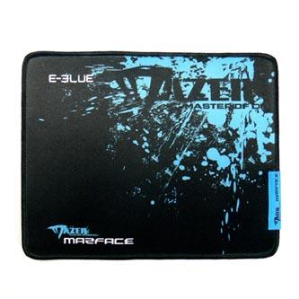 Podložka pod myš, Mazer Marface M, herní, černo-modrá, 36.5x26.5cm, E-Blue