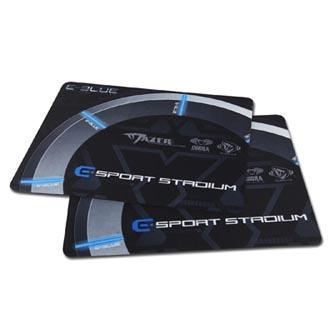 Podložka pod myš, Gaming Arena, herní, černo-šedá, 26x21x0,2cm, E-Blue