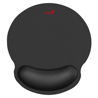 Podložka pod myš G-WMP 100,s gelovou podložkou, látková,protiskluzová, černá, 250*230 mm, 25 mm, Genius