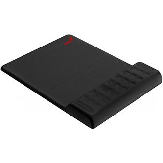 Podložka pod myš G-WMP 200M, s gelovou podložkou, látková, s paměťovou pěnou, černá, 230*160 mm, 20 mm, Genius