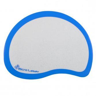 Podložka pod myš, Protiskluzová, šedá, 217x167 mm, Logo
