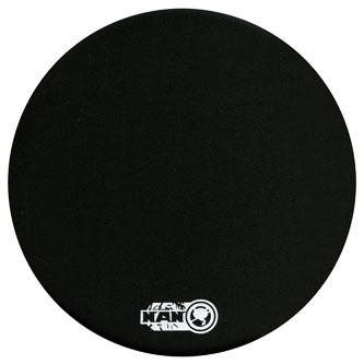 Podložka pod myš, antimikrobiální, z kaučuku, černá, 22x22, 5 mm