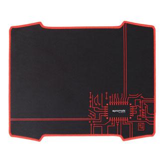 Podložka pod myš, Xtrack-2, herní, černá, 32x47 cm, Promate