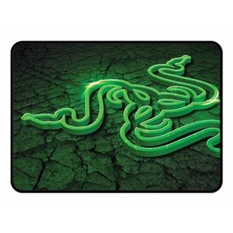 Podložka pod myš, Goliathus Control Fissure Medium, herní, zelená, 25,4x35,5 cm, 3 mm, Razer