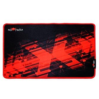 Podložka pod myš, P1-M, herní, černo-červená, 36 x 26 x 0.4 cm, Red Fighter