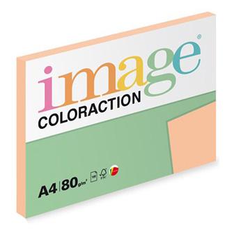 Xerografický papír Coloraction, Savana, A4, 80 g/m2, světle oranžový, 100 listů, vhodný pro inkoustový tisk