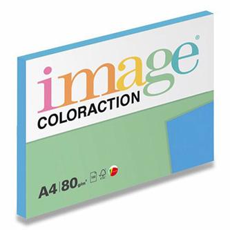 Xerografický papír Coloraction, Malta, A4, 80 g/m2, středně modrý, 100 listů, vhodný pro inkoustový tisk