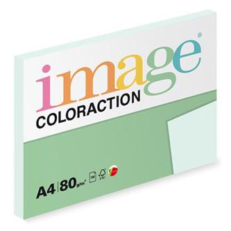 Xerografický papír Coloraction, Lagoon, A4, 80 g/m2, světle modrý, 100 listů, vhodný pro inkoustový tisk