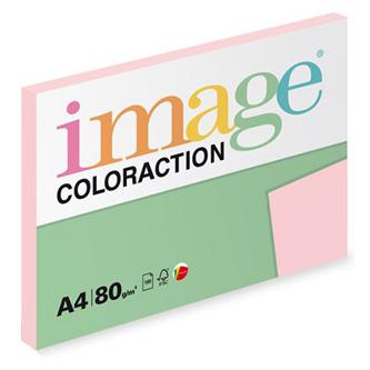 Xerografický papír Coloraction, Tropic, A4, 80 g/m2, světle růžový, 100 listů, vhodný pro inkoustový tisk