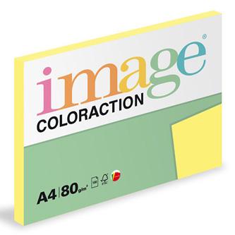 Xerografický papír Coloraction, Florida, A4, 80 g/m2, citrónově žlutý, 100 listů, vhodný pro inkoustový tisk