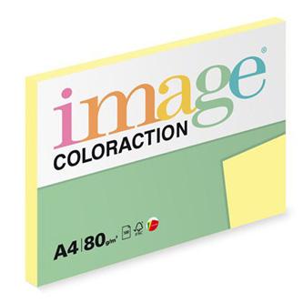 Xerografický papír Coloraction, Desert, A4, 80 g/m2, světle žlutý, 100 listů, vhodný pro inkoustový tisk