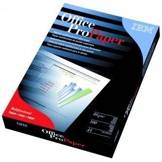 Xerografický papír IBM, Office Pro/All Business A4, 80 g/m2, bílý, 500 listů, vhodný pro laserový tisk a kopírky