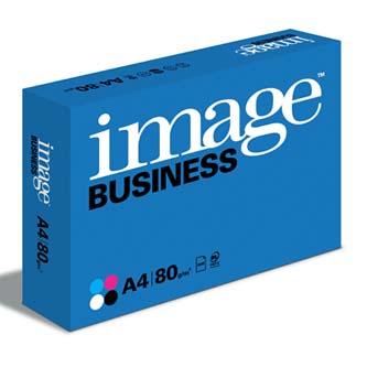 Xerografický papír Image, Business A4, 80 g/m2, bílý, 500 listů, vhodný pro Ink+Laser