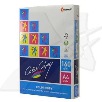 Xerografický papír Color copy, A4, 160 g/m2, bílý, 250 listů, spec. pro barevný laserový tisk