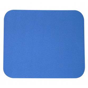 Podložka pod myš, měkká, modrá, 24x22 cm