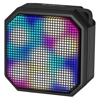 Defender reproduktor G16, Li-Ion, 1.0, 5W, černý, regulace hlasitosti, LED podsvícení, BT 5.0, TWS, 50Hz~20kHz