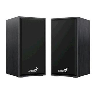 Genius reproduktory SP-HF180, 2.0, 6W, černé, regulace hlasitosti, dřevěné, 150Hz-20kHz