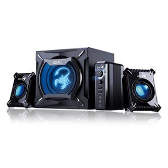 Genius GX GAMING SW-G2.1 2000 herní, 2.1, 45W, černé, ovládání hlasitosti, 3,5 mm jack (USB)