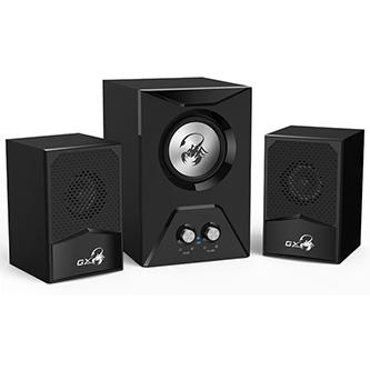Genius SW-G2.1 500 herní, 2.1, 15W, černé, ovládání hlasitosti, 3,5 mm jack (USB)