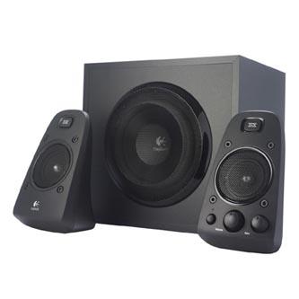 Logitech reproduktory Z623, 2.1, 400W, černé, regulace hlasitosti, pro Notebooky, pro PC, Subwoofer 130W