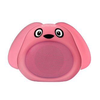 Promate Bluetooth reproduktor Snoopy, Li-Ion, 1.0, 3W, růžový, ,pro děti
