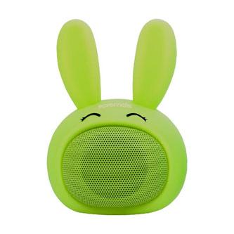 Promate Bluetooth reproduktor Bunny, Li-Ion, 1.0, 3W, zelený, ,pro děti