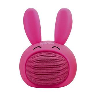 Promate Bluetooth reproduktor Bunny, Li-Ion, 1.0, 3W, růžový, ,pro děti