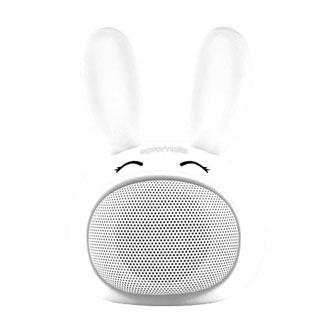 Promate Bluetooth reproduktor Bunny, Li-Ion, 1.0, 3W, bílý, ,pro děti