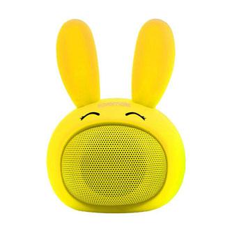 Promate Bluetooth reproduktor Bunny, Li-Ion, 1.0, 3W, žlutý, ,pro děti