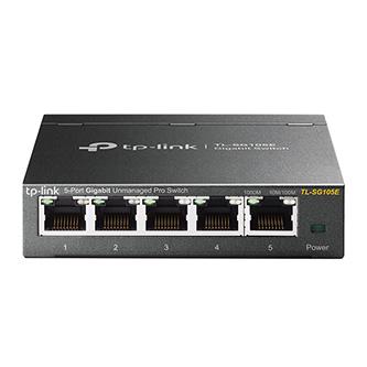 TP-LINK stolní switch TL-SG105E 1000Mbps, VLAN, Smart Easy, auto MDI/MDIX , plug-and-play