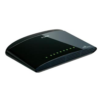 D-LINK, DES-1008D, switch, LAN, 10/100Mbps, 8-mi portový