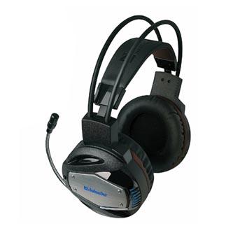 Defender Warhead G-500, sluchátka s mikrofonem, ovládání hlasitosti, černo-hnědá, herní sluchátka, 2x 3.5 mm jack + USB